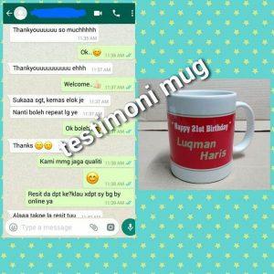 Maklumbalas pelanggan mug