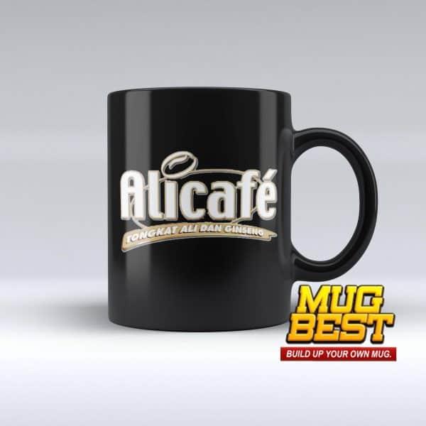 Black Mug Printing
